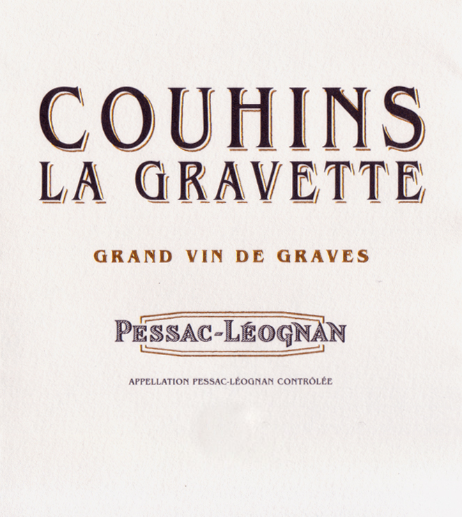 Example of COUHINS LA GRAVETTE RED 05